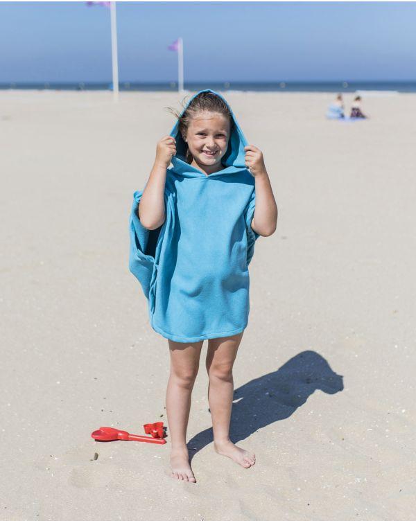 Poncho de plage enfant - Anuanua - Naïade - 120x60 cm