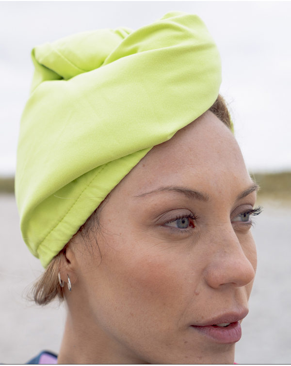 Turban cheveux - Heiata - Lime
