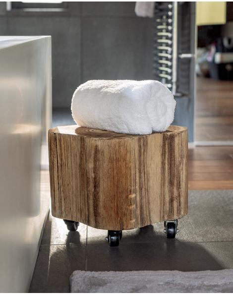 Serviette de toilette - Manavai - Perle - 100x50cm