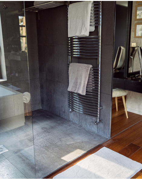 Drap de bain - Manavai - Perle - 150x100cm