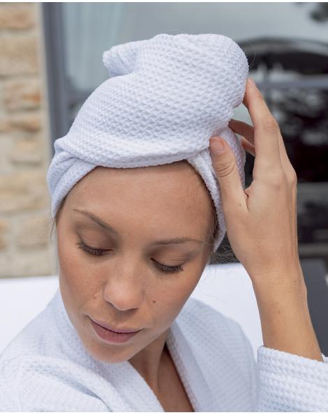 Turban cheveux - Taimiti - Coquillage - 68x25 cm