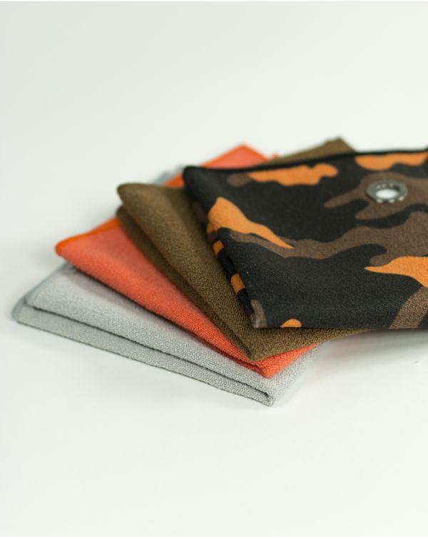 Serviette invités - G-terry - marron - 30x30 cm