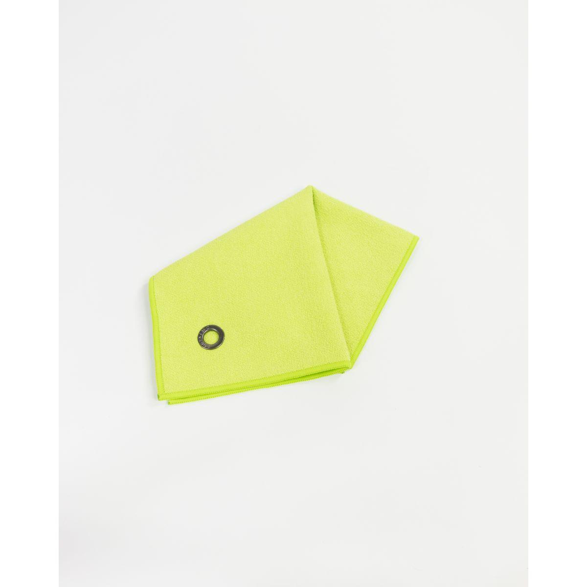 serviette mains visage en microfibre anuanua vert lime bodynamic. Black Bedroom Furniture Sets. Home Design Ideas