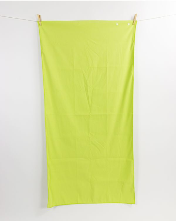 Drap de plage - Heiata - Lime - 140x70 cm
