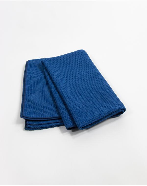 Blue Bubble - Drap de bain - Bleu - Microfibre