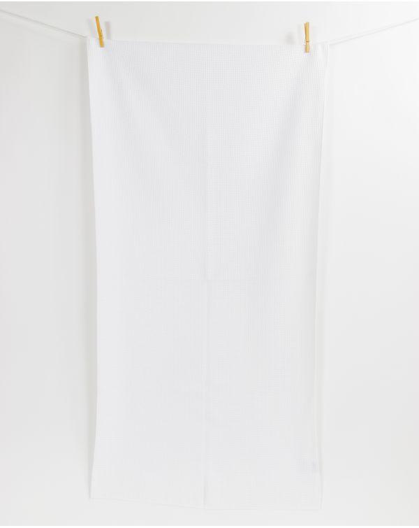 Drap de douche - Taimiti - Coquillage - 140x70cm