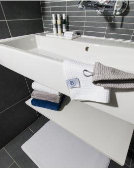 Gant de toilette - Taimiti - Coquillage - 22x15cm